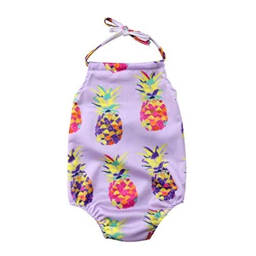 Kinder Baby Mädchen Bikini Einteiler Strand Badeanzug Bademode