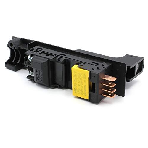 Schalter für Bosch Winkelschleifer Taster für GWS 2000-23 J, GWS 22-180 JH, GWS 22-230 H, GWS 22-230 JH, GWS 23-180 J