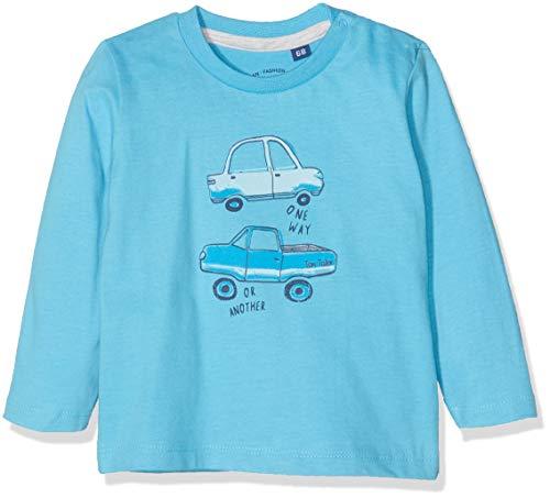 TOM TAILOR Kids T- 1/1 T-Shirt À Manches Longues, Bleu (Norse Blue 3059), 95 (Taille Fabricant: 80) Bébé garçon