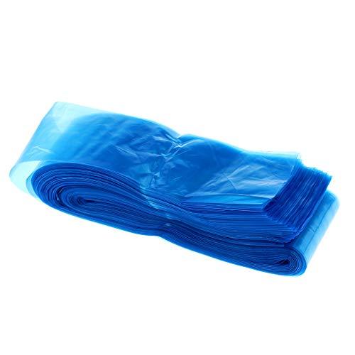 F Fityle Lot de 100pcs Pro Jetable Manche Sac d'Alimentation Cord Sleeves Cover Bags Protecteur