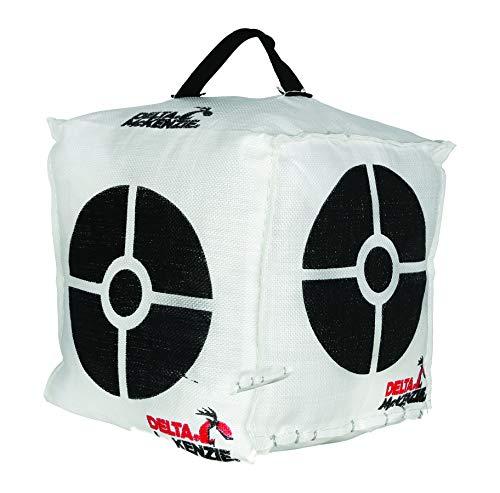 Delta Targets Box Bag Target, White