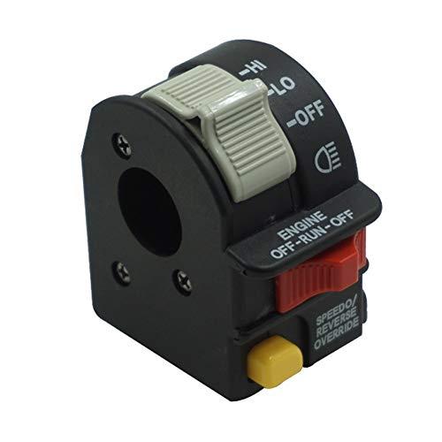 ZHENDA MANO IZQUIERDA Hola Lo ENCENDIDO-APAGADO Interruptor de arranque con llave 4011835 OEM Compatible For 06-14 Polaris Sportsman 400 500, 700, 800,