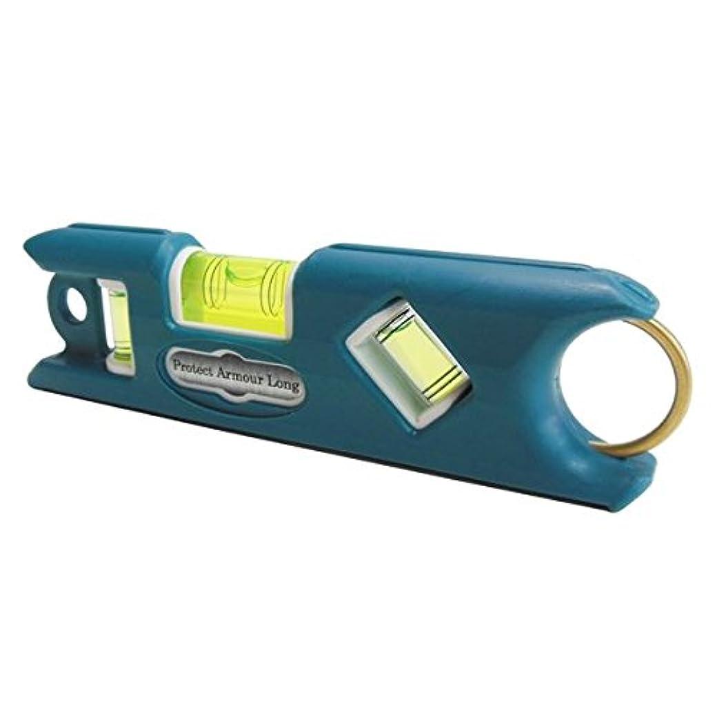 争う大きさメロドラマティック日用品 DIY (業務用2個セット) プロテクトアーマー ロング水平器/レベル 【ブルー】 一体型成型