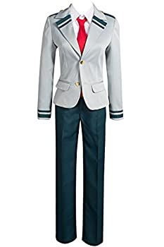 Cosplay Boku no Hero Academia My Hero Academia Izuku Blazer Costume School Uniform Full Suit  X-Small