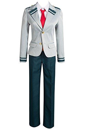 Valecos Cosplay Boku No Hero Academia My Hero Academia Izuku Blazer Costume School Uniform Full Suit (Medium)
