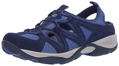 Easy Spirit Women's Earthen Sneaker, Blue 401, 8 Narrow