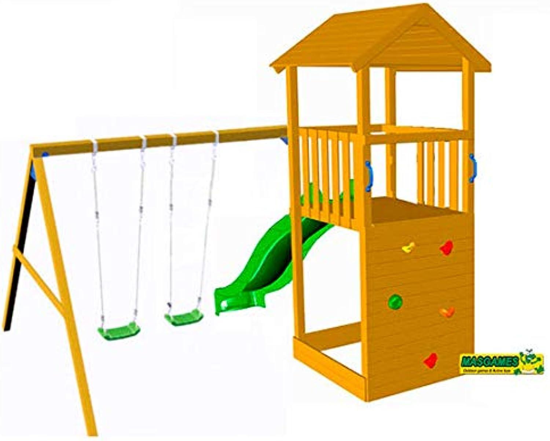 tienda en linea MASJuegoS Parque Parque Parque Infantil CANIGO con Columpio Doble  mejor marca
