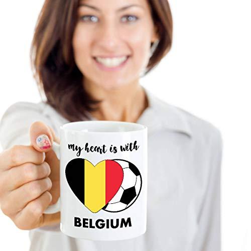 Sp567encer België 2018 beker Belgische voetbal koffiemok Belgische voetbal teambeker Belgische beker
