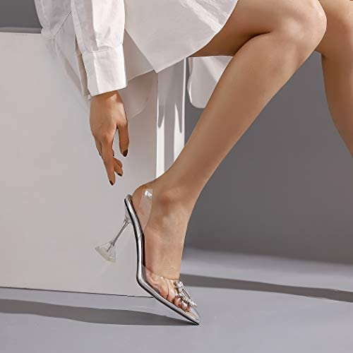 Clear wedding shoes _image3