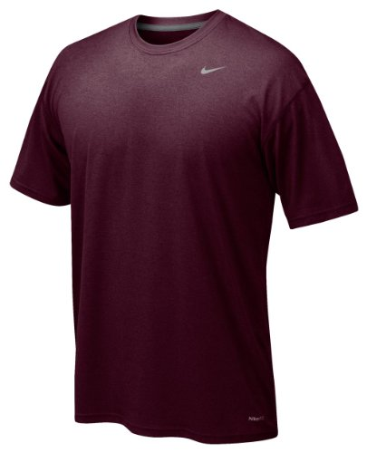 Nike Men's Legend Short Sleeve Tee, Maroon, M