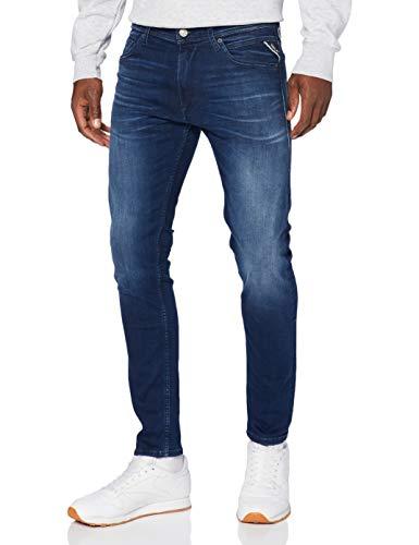 REPLAY JONDRILL Jeans, 9 Azul Mediano, 31W x 34L para Hombre