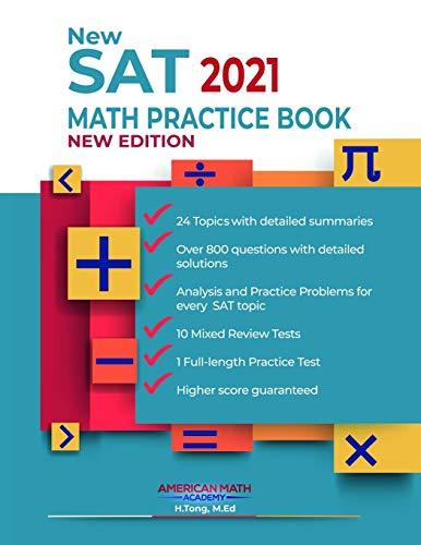 New SAT 2021 Math Practice Book