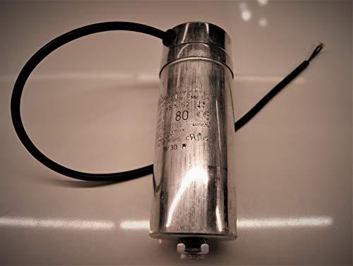 Kondensator 80µF/80uF für Lissmac Bandsägen MBS 502/510/650 und ander