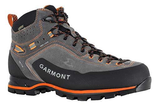 GARMONT M Vetta GTX Grau, Herren Gore-Tex Wanderschuh, Größe EU 45 - Farbe Dark Grey - Orange