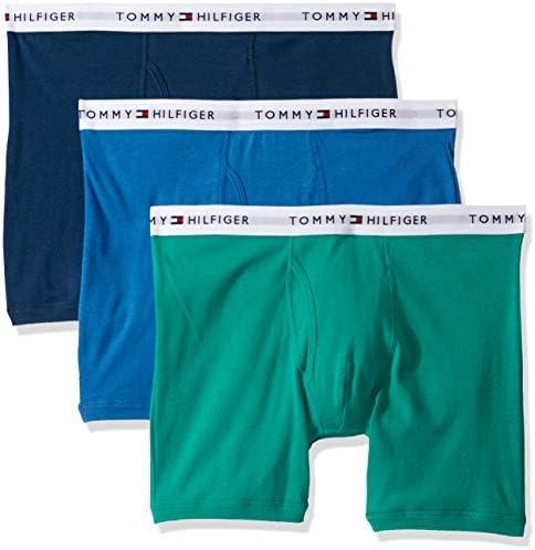 Tommy Hilfiger Men s Underwear Multipack Cotton Classics Boxer Briefs Shamrock Multi 3 Pack product image