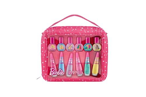 Kit Impala Barbie Mãe & Filha 6 Esmaltes Adultos e 6 Esmaltes Infantis