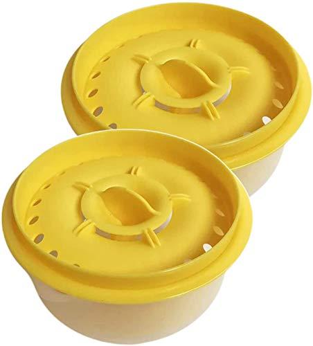 Separatore di tuorlo d'uovo e bianco d'uovo con ciotola per...