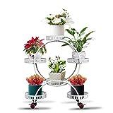 zhongxingenggeng Estanteria Plantas-Puesto de Flores Soporte para Macetero...