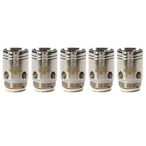 Joyetech EX Series Coils (1,2 Ohm), Nickel-Chrom NiCr, Riccardo Verdampferköpfe für e-Zigarette, 5 Stück