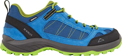 McKINLEY Herren Outdoor-Schuh Travel Comfort AQX Cross-Trainer, Blau (Blue Dark/Green LIM 906), 40 EU