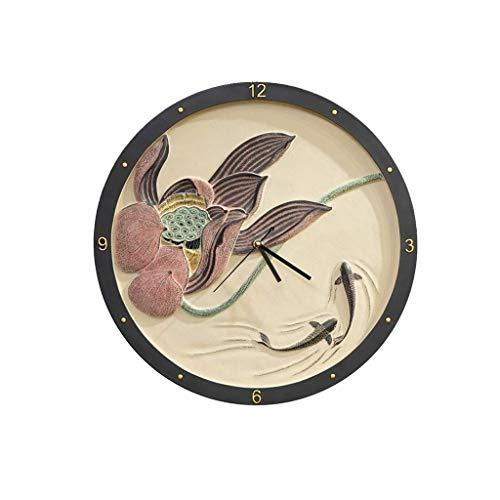 NXYJD Reloj de Pared Creativo, decoración del hogar del Reloj de Pared tictac silenciosa for no Arte del Reloj for Estar Cocina