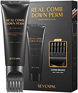 Sevenpm Real Comb Men's Self Styling Side Hair Down Perm 120ml/4.05oz