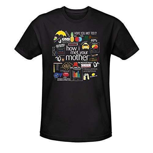FIT How I Met Your Mother Men's Mashup T-Shirt