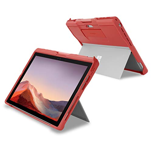 Kensington BlackBelt 2nd Degree Rugged Case for Surface Pro 7, 6, 5, & 4 - Red (K97801WW)