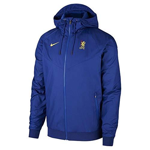 Nike 2019-2020 Chelsea Authentic Cup Windrunner Jacke (blau) M blau