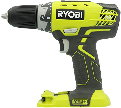 """Ryobi 18 Volt 1/2"""" Inch Cordless Drill With Led Light - P208B - (Bulk Packaged)(Tool Only)"""