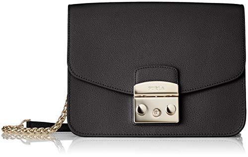 FURLA 941911 - Borse a tracolla Donna, Nero (Onyx), 9x15x21 cm (B x H...