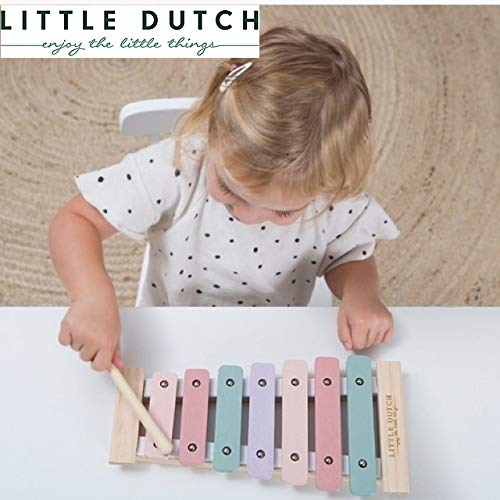 LITTLE DUTCH (リトルダッチ) 木製 木琴 指先訓練 女の子 男の子 木のおもちゃ 誕生日 お祝い クリスマス ...