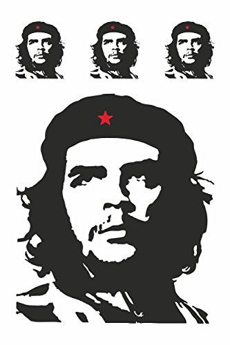 carstyling XXL Aufkleber Che Guevara Kontur 4er-Set 300 x 200 mm ~ schneller Versand innerhalb 24 Stunden ~