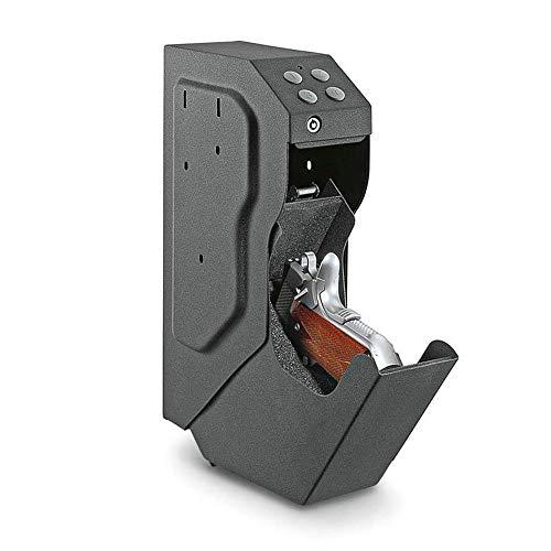 ContraseñA ElectróNica Gunsafe Gunbox, Propiedad De JoyeríA Para El Hogar Segura, Caja De Almacenamiento De Caja De Pistola De Dormitorio