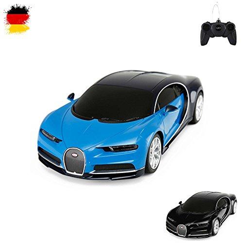 Original Bugatti Chiron, licencia de Auto, RC Coche Teledirigido, oficial., modelo de escala 1: 24, Ready to de Drive, Auto, incluye control remoto, Nuevo