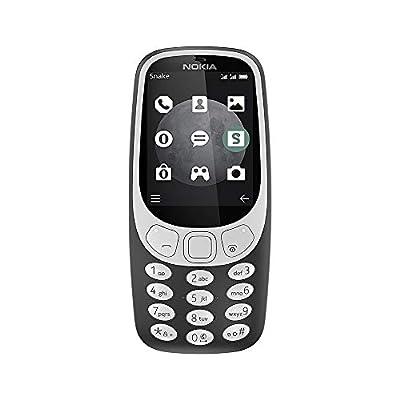 "Nokia 3310 Factory Unlocked Phone - 2.4"" Screen - 32MB - Warm Red (U.S. Warranty)"