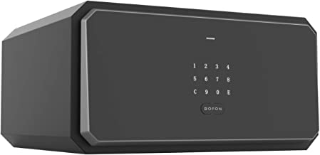 BOFON W-Series Security Box with Key, Safe Box,1.2 Cubic Touch Keyboard Password,Safety Boxes for Home Office,Pistol Safe,...