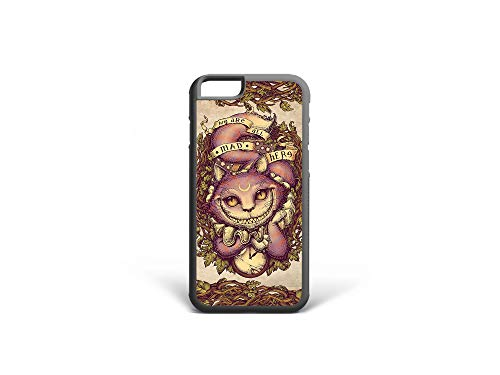 Kaidan iPhone XR X XS Cheshire Cat 11 Pro Max Alice in Wonderland 8 7 Plus 6 6s Case 5S SE Samsung Galaxy We're all Mad Here S10 Lite Clock S8 S9 Plus S10 Plus Note 8 9 S10e Google Pixel 3 2 XL 2mda77