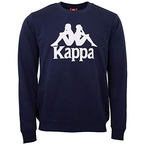 Kappa heren sweatshirt AUTHENTIC SERTUM | shirt met lange mouwen, retro-look hoodie, pullover sweater longshirt, regular fit