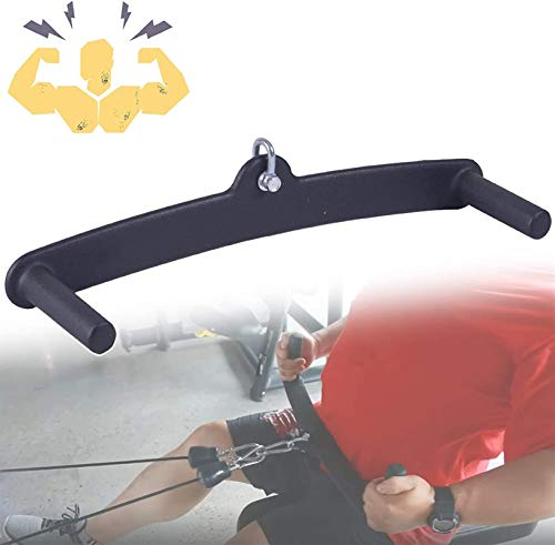 WXking Barra pullada en forma de votos a prueba de votos, cable de múltiples gimnasio y accesorio de la máquina Lat, fácil de agarrar, equipo de entrenamiento de resistencia al equipo de fitness, tríc
