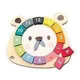 Tender Leaf Juego Aprendizaje Reloj Oso, Multicolor (1)
