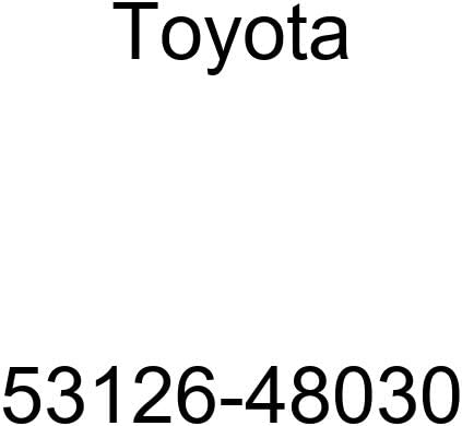 1 year warranty Genuine Toyota 53126-48030 Grille Super sale period limited Molding Radiator