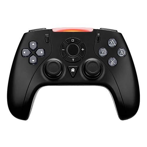 Controlador de Juegos Inalámbrico, Joystick Gamepad con Vibración, Compatible con Switch/Switch Lite,Negro