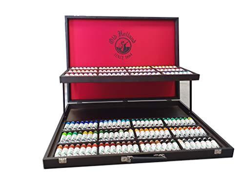 Old Holland - Caja de Edición Limitada - Gama completa de 168 colores al óleo