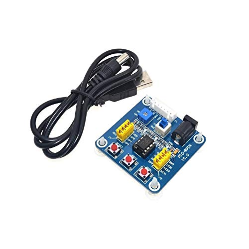 PIC12F675 / PIC12F629 / PIC12F508 / PIC12F509 / PIC12F510 /, PIC12F615 / PIC12F683 / PIC12F609 / PIC12F1501 Development Board Learning Board Test Brood Board + USB-kabel (Size : PIC12F509)