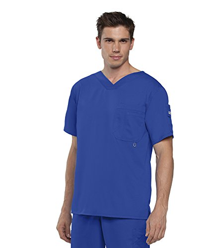 BARCO - Men's Preston Top, Easy Care V-Neck Medical Scrub Top w/ 3 Pockets
