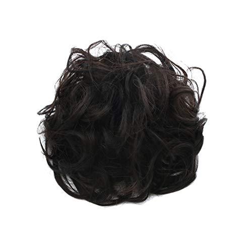 Yncc ✬Nouveau Perruque Femme Perruque Cospay - Élégants Cheveux Chouchous - Cercle de Cheveux élégants et faciles à Porter Femmes Filles Cheveux Cercle Élastiques