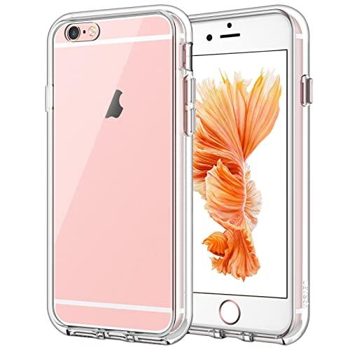 JETech Cover Compatibile iPhone 6 / 6s, Custodia con Paraurti Assorbimento degli Urti e Anti-Graffio, Trasparente HD Chiaro