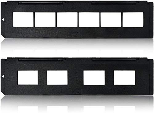 ¡DIGITNOW! 1 paquete de soporte para portaobjetos 135 de repuesto y 1 paquete de soporte para películas de 35 mm para escáner de diapositivas / películas (7200, 7200u, 120 escáneres Pro)