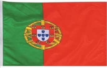 AZ FLAG Bandera de Portugal 90x60cm Bandera Portuguesa 60 x 90 cm poli/éster Ligero